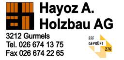 Hayoz Alois, Holzbau AG